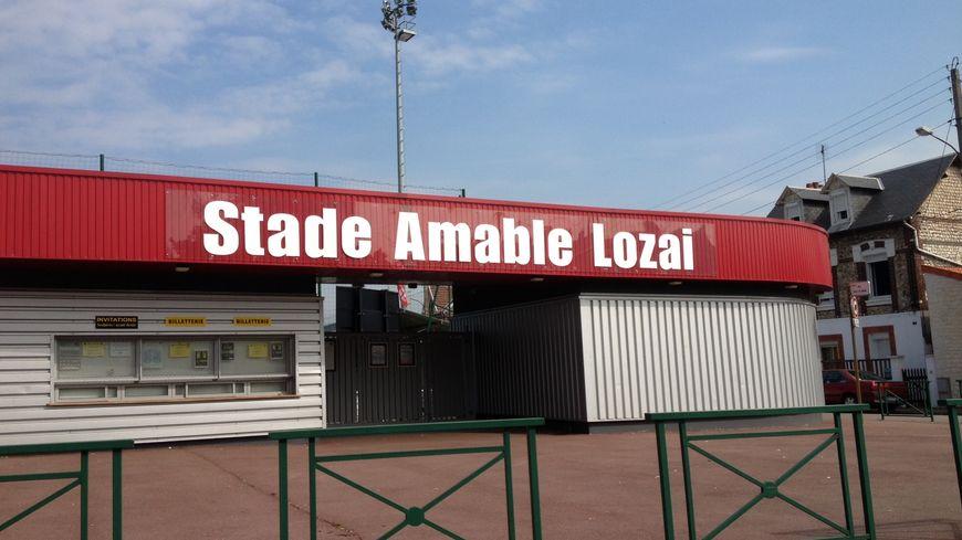 Le stade Lozai à Petit Quevilly