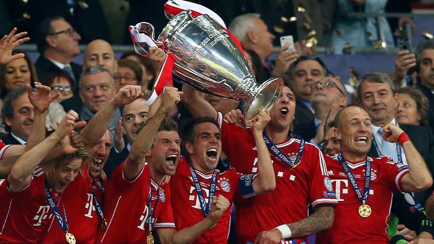 Les coéquipiers de Franck Ribéry fêtent leur cinquième Ligue des Champions
