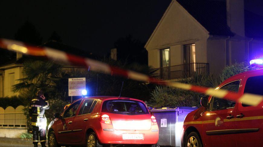 Avenue Fouchet, à Pau, le soir du double infanticide, le 28 novembre 2012