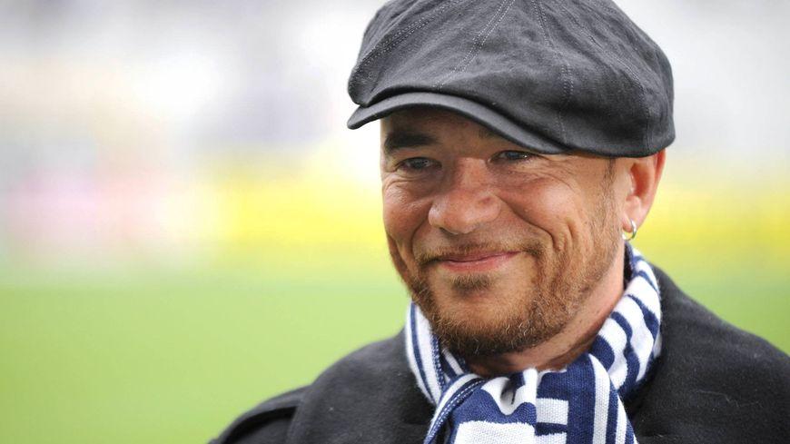 Pascal Obispo, supporter des Girondins de Bordeaux