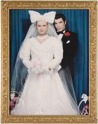 Les mariés, Pierre et Gilles, 1992