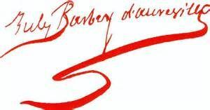 Signature Barbey d'Aurevilly