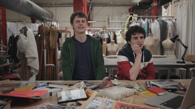 Norman et Hugo, dans le documentaire d'Arte