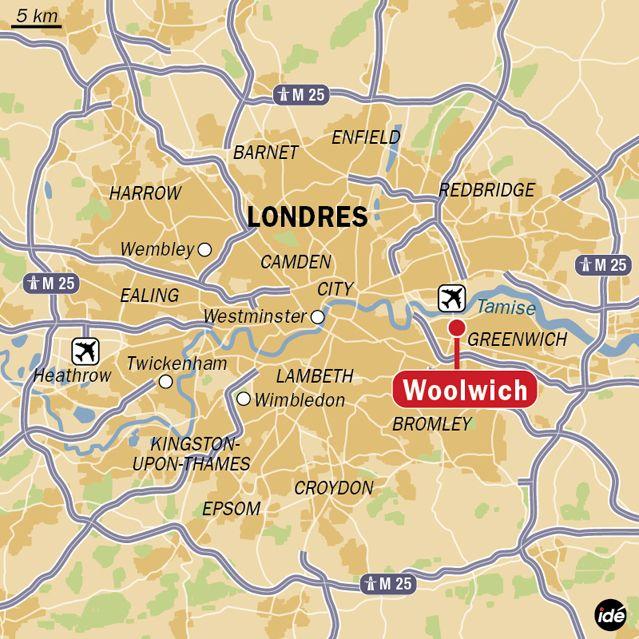 Un soldat britannique tué à Londres