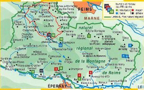 L'Environnement : Parc Naturel Régional de la Montagne de Reims