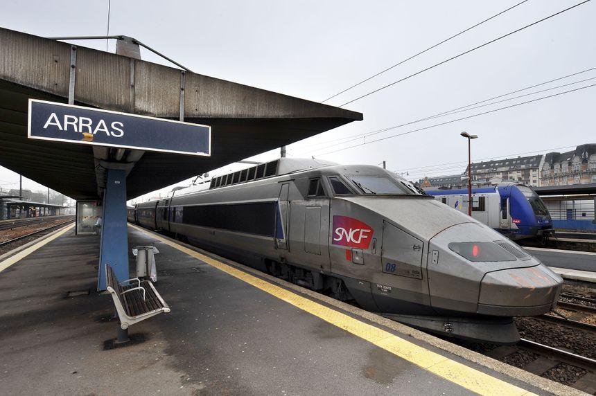 Les 20 ans du TGV Nord : la gare d'Arras