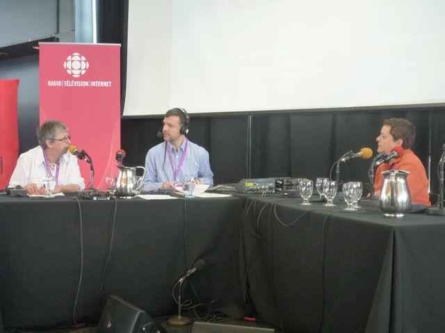 La Tête au Carré à Québec à l'occasion du 81e Congres de l'Acfas ((L'Association francophone pour le savoir)