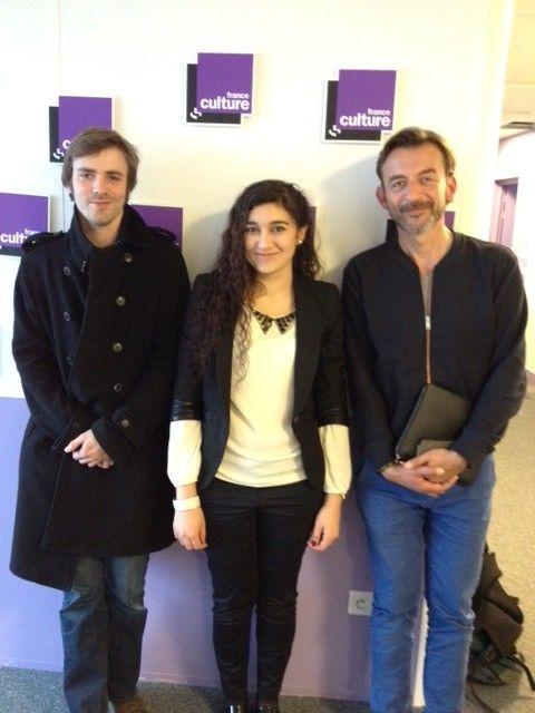 Grégoire Cousin, Anina Ciuciu, Marc Voinchet