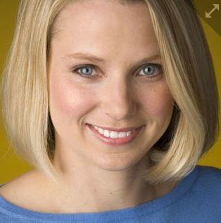 Marissa Mayer, patronne de Yahoo (capture d'écran de son compte Twitter)