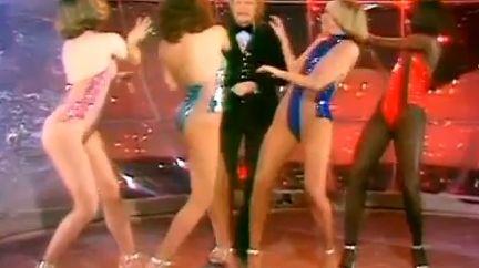 Les Clodettes accompagnaient Claude François sur scène ou sur les plateaux de télévision