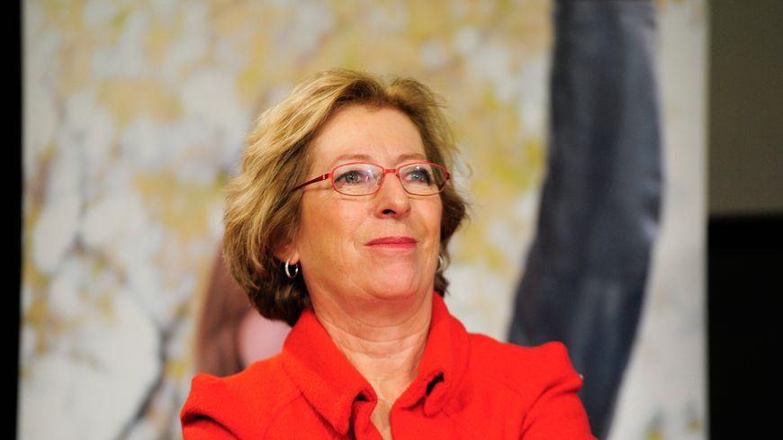 Ministre de l'enseignement sup Geneviève Fioraso - 10 dec 2012 lct de la campagne de recrutement des enseignants à la Sorbonne