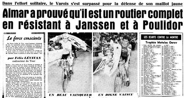 Aimar vainqueur 1966