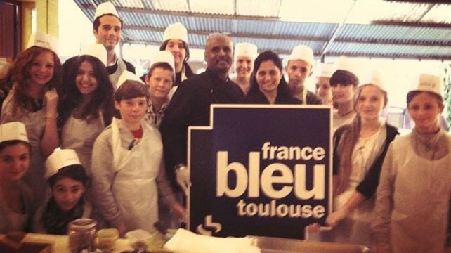 Vu d'ici: Battle cook au collège Saint Louis  faubourg Bonnefoy à Toulouse