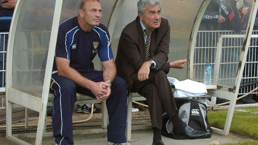 Vern Cotter et René Fontès