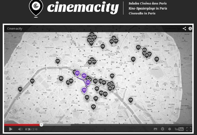 CinémaCity (capture d'écran, film de présentation)