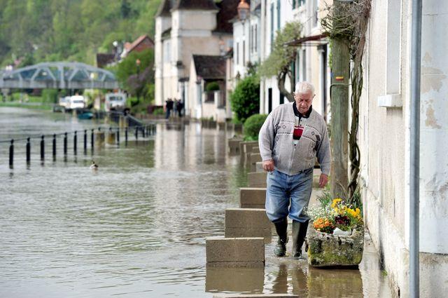 L'Yonne avait déjà subi de fortes pluies jeudi dernier.