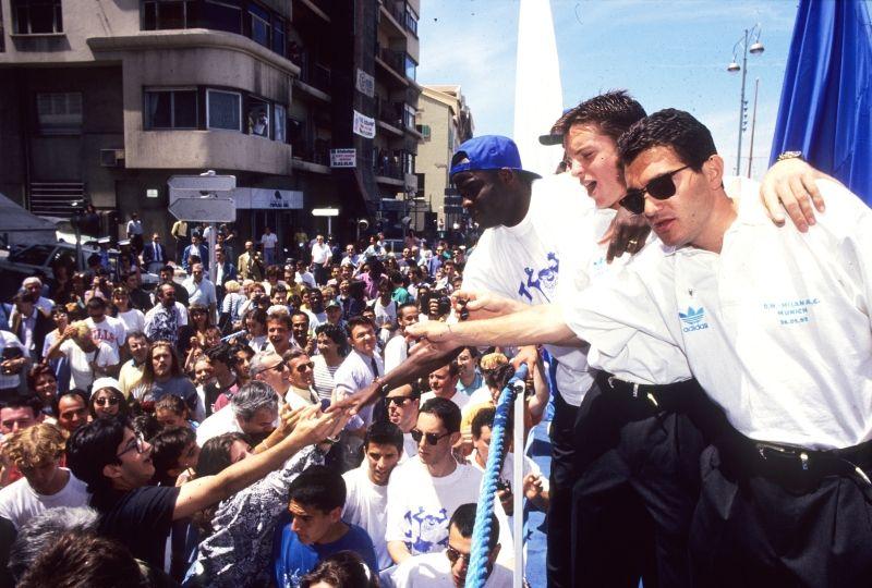 OM 1993 - Le retour de Boli sur le Vieux-Port