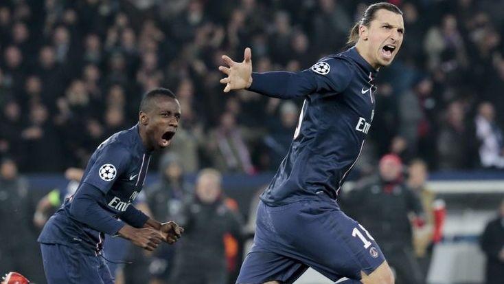 """Blaise Matuidi et Zlatan Ibrahimovic, tous deux nommés dans la catégorie """"Meilleur joueur"""" des trophées UNFP"""