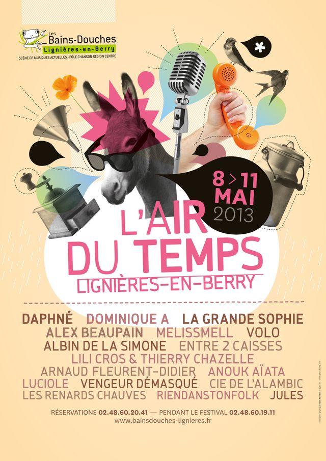 Le Festival L'air du temps à Lignières (Cher)