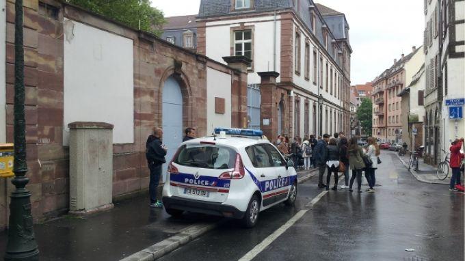 photo police Strasbourg collège saint-etienne rumeur internet tuerie Alsace