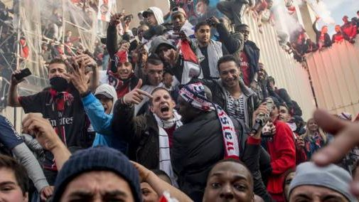 10.000 à 15.000 personnes s'étaient massées place du Trocadéro pour fêter le titre du PSG