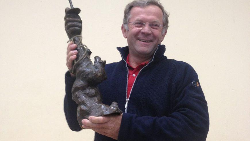 le vigneron de l'année 2013 à al foire expo de Bergerac