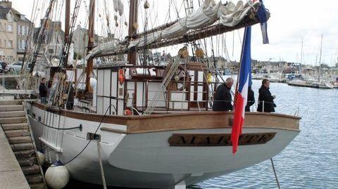 Le Marité à Cherbourg