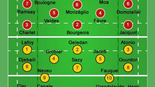Pau / La Rochelle : la composition des équipes