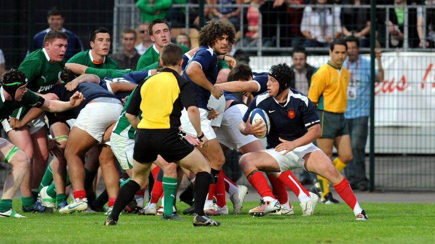 Karl Chateau - Rugby international moins de 19 ans - France / Irlande (archives 2011)