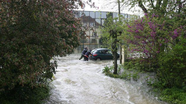 La commune de Buchères, à 10 kilomètres en amont de Troyes, a été la plus touchée