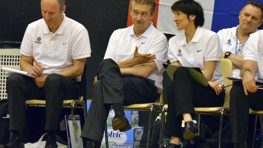 basket féminin braqueuses sélectionneur Pierre Vincent Valérie Garnier