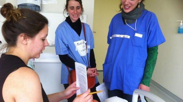 Les sages-femmes de l'hôpital de Valence interrogent les mamans