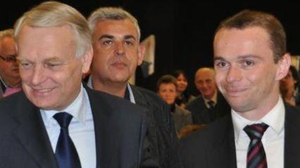 Jean Marc Ayrault en Ardèche pendant la présidentielle 2012