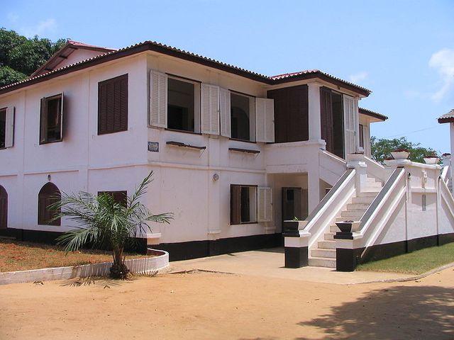 Fort Portugais contruit en 1721 à Ouidah, aujourd'hui transformé en musée.