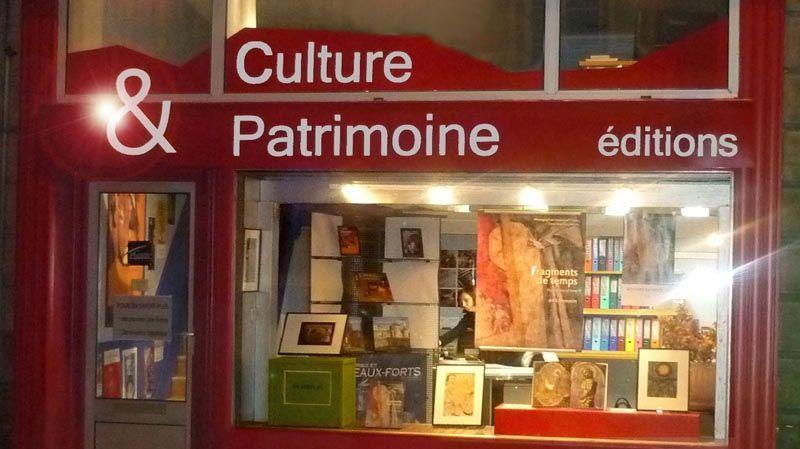 Boutique Culture et Patrimoine à Limoges