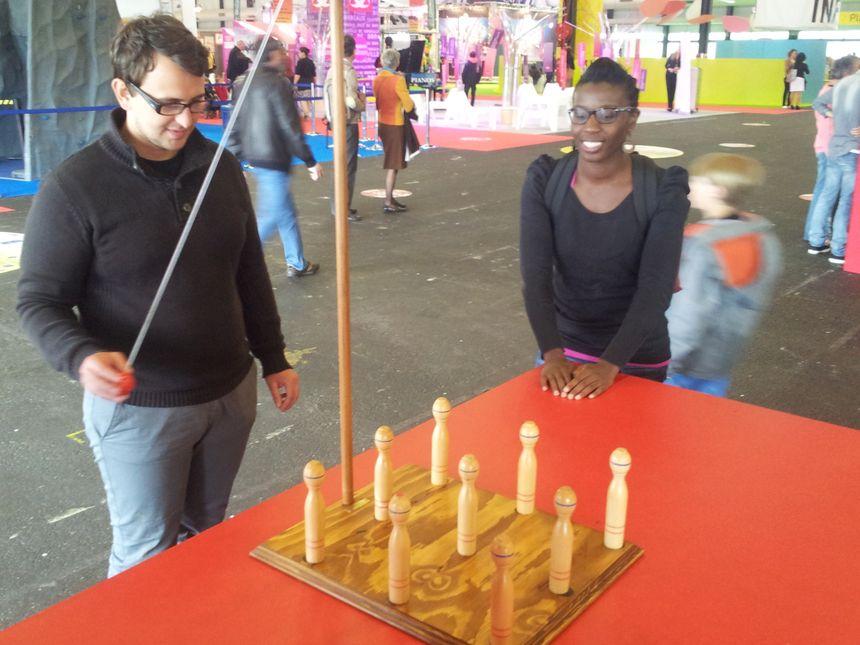 Espace jeux de la Foire Internationale de Bordeaux