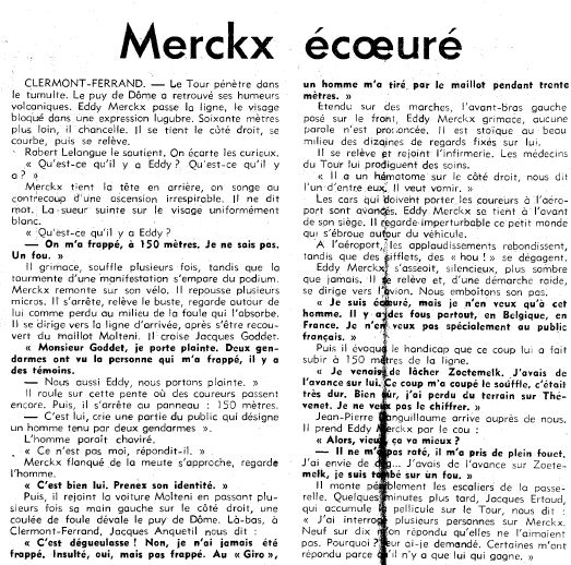 Merckx frappé