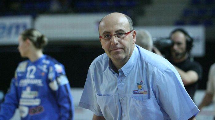 Le président de Metz-Handball, Thierry Weizman.