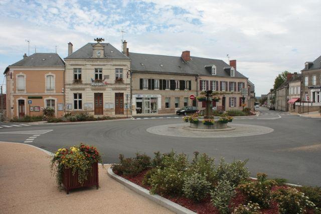 Bourg de Bonnat (Creuse)