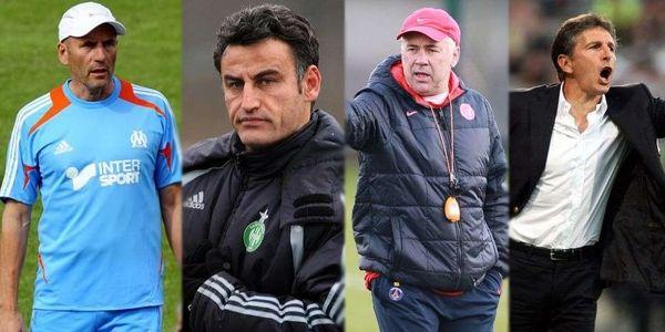 Les quatre entraîneurs nommés