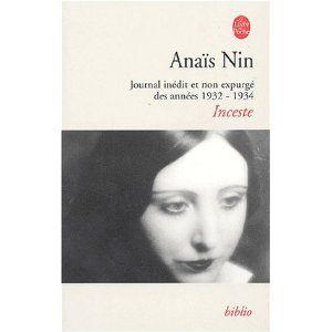 Portrait d'Anaïs Nin