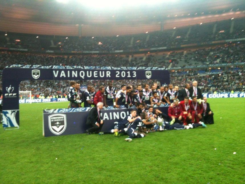 Bordeaux vainqueur 2013