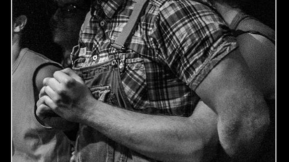Rudy Garcia catcheur improvisateur