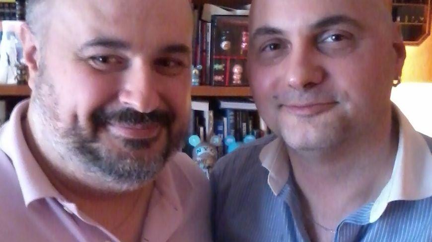 Steve Rosa et Sylvain Dubois