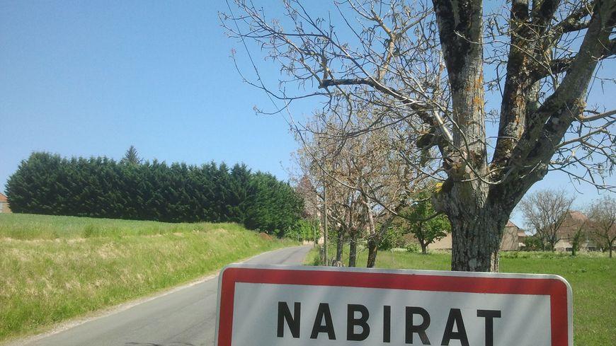 Le village de Nabirat dans le Périgord noir
