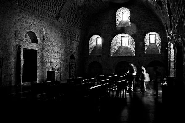 L'église du monastère syriaque orthodoxe de Mor Gabriel