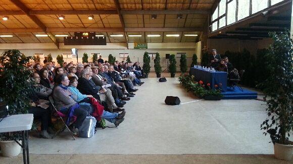 400 personnes sont venues écouter la présentation du projet de l'architecte Christian de Portzemparc