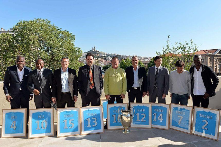 La génération dorée de l'OM réunie pour fêter les 20 ans du titre européen