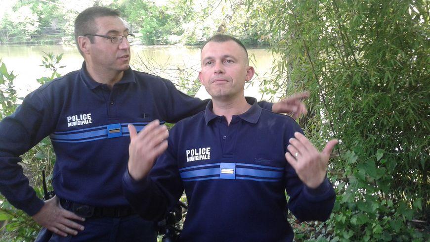 policier municipal Périgueux