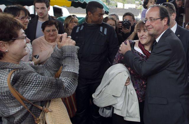 Hollande popularité